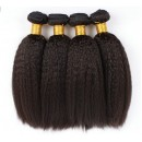 Wholesale Indian Remy Hair Italian Yaki Hair Weft Color #1b-HW008