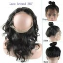 360 Lace Frontal Natural Color Wholesale 8A Brazilian Hair