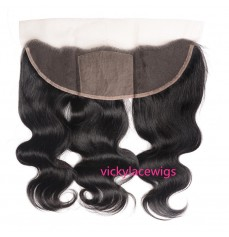 Lace Frontal Body Wave 13x4 Lace with 4x4 Silk Top Brazilian Virgin Hair -VKF004