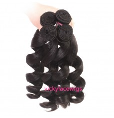 Loose Wave Hair Weave Wefts Wholesales Virgin Human Hair-WSH020
