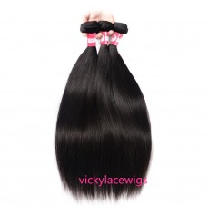 Wholesales Natural Straight Hair Weave Wefts 100% Virgin Human Hair-WSH003