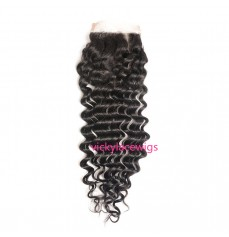 Lace Closure 4*4 Wholesales Brazilian Virgin Hair-HW005