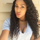 Affordable Curly texture Indian remy hair lace front cap 14 inch-LFW14