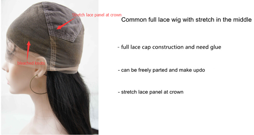 common full lace cap