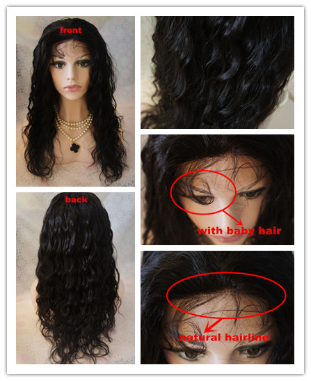 wave full lace wigs