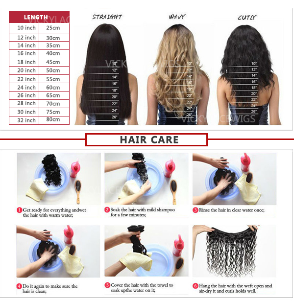 how to care the hair weave