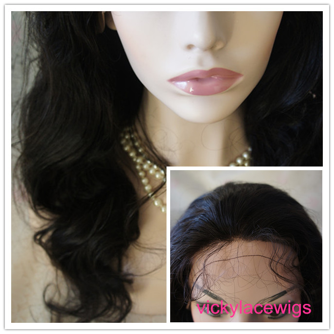 wave wigs glueless with silk top full lace