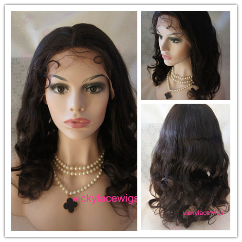 silk top lace front wave wigs