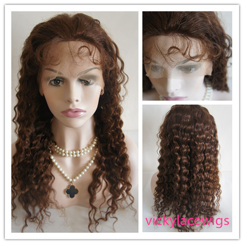 deep curly lace wigs