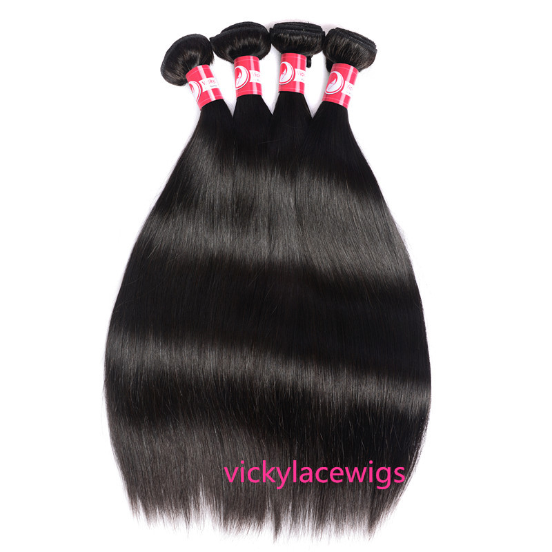 natural straight weave