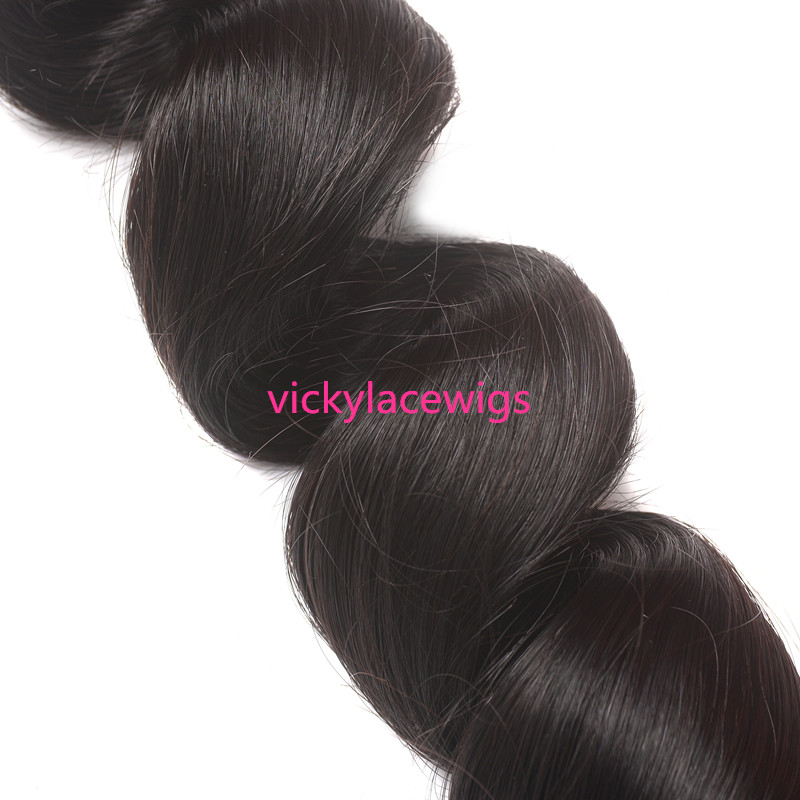 loose wave wefts